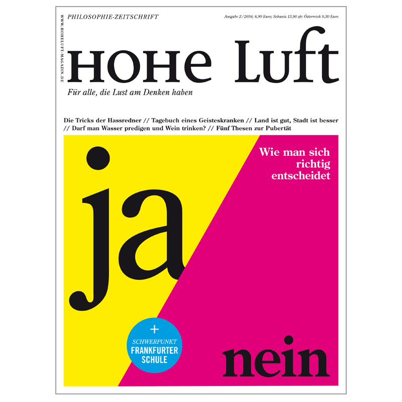 Cover Hohe Luft
